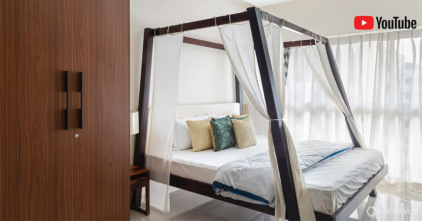 Watch Our Stylist Give This Bedroom 3 Different Makeovers in Minutes