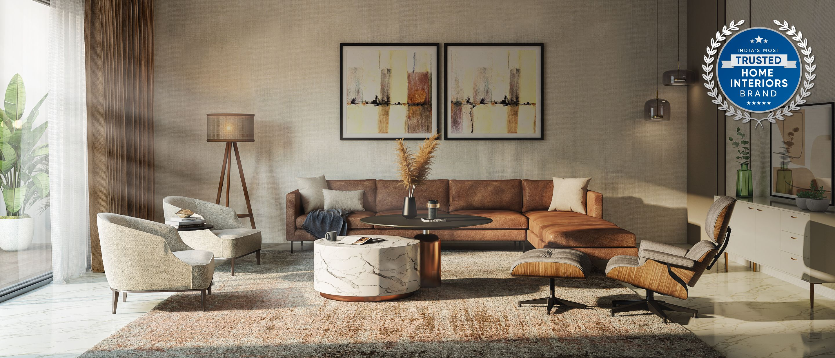 Get your dream home interiors done safely