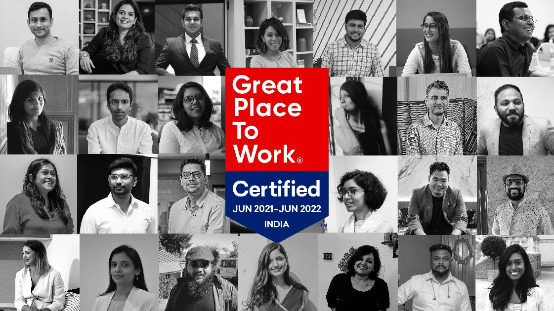 A Great Place to Work indeed