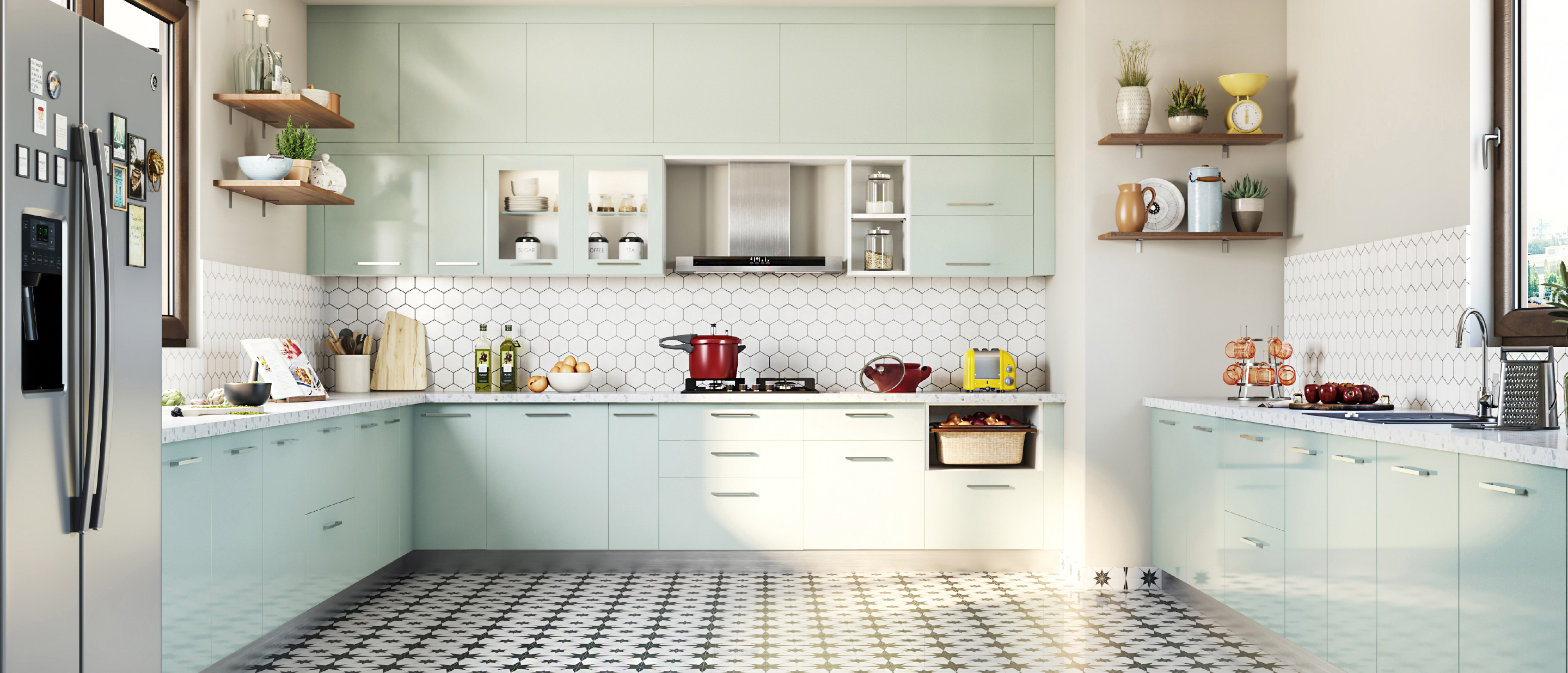 The simplest way to get your modular kitchen price