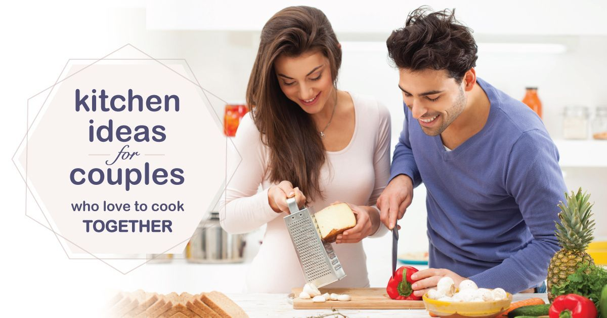 Couples Cooking : Two Cook Kitchen Design Ideas