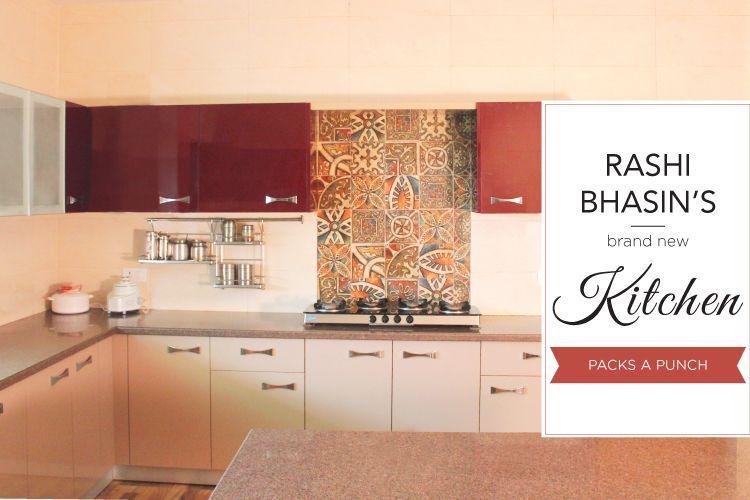 Rashi Bhasin kitchen makeover