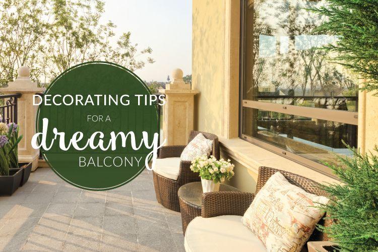 decorate balcony