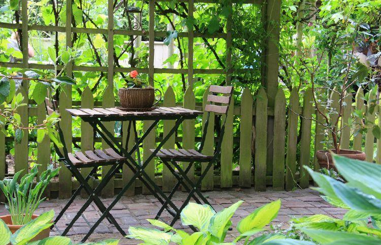 Design tips garden seating area