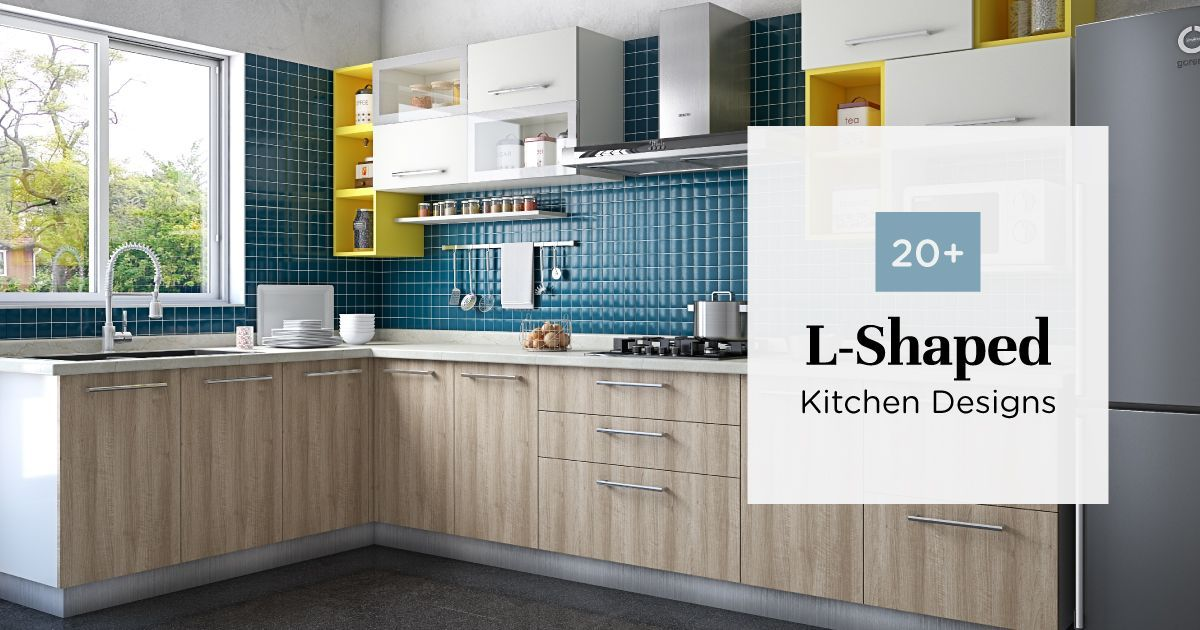 Fabulous L-Shaped Kitchen Designs to Check Out