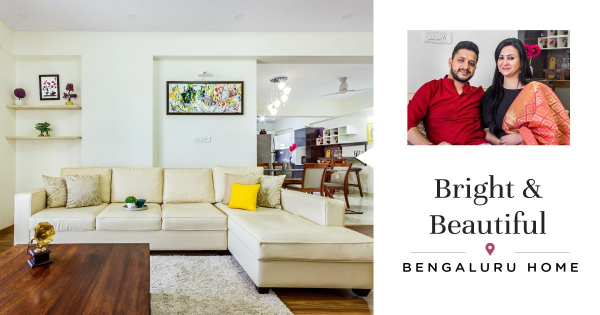 3BHK Gets Cosy & Modern Interiors