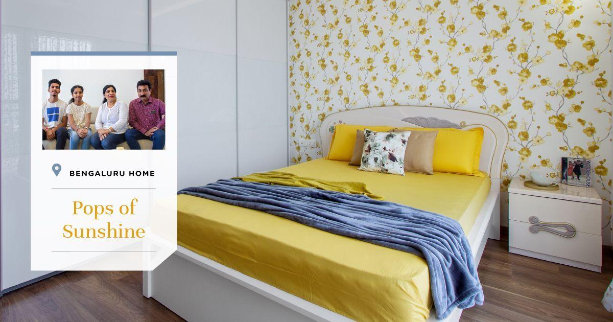 3BHK Gets Plush & Glossy Interiors