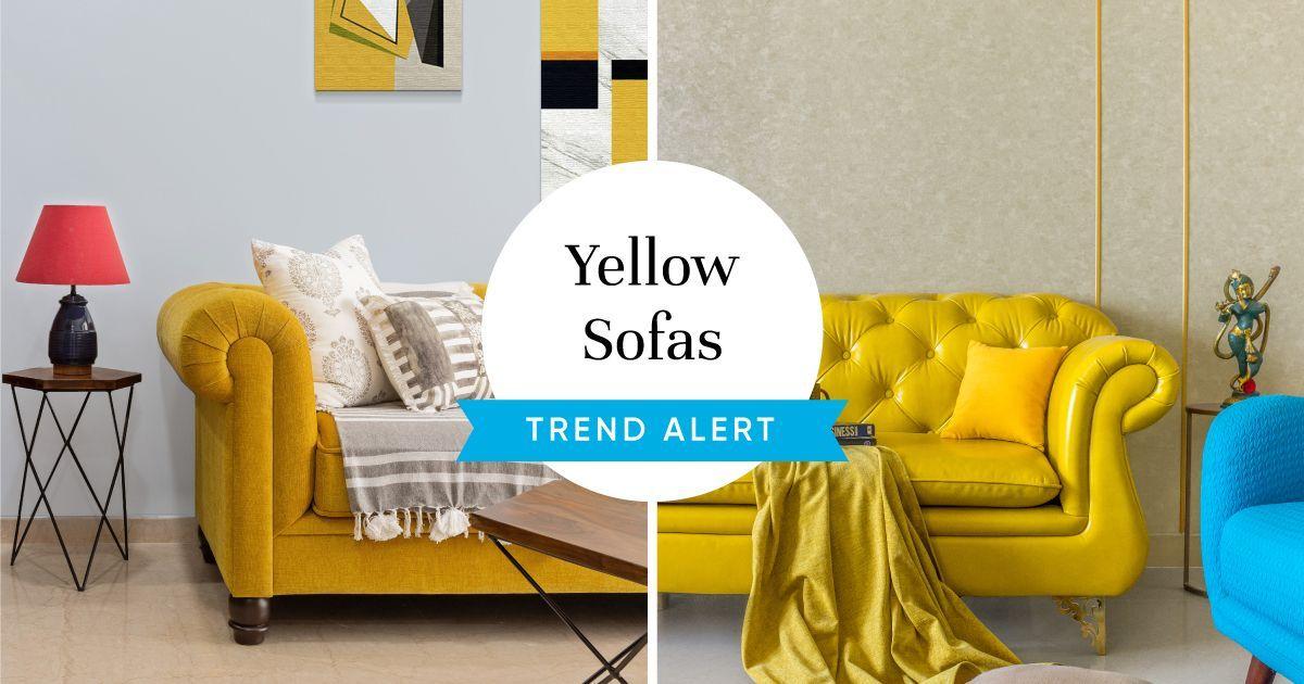 7 Smart Ways to Work the Yellow Sofa