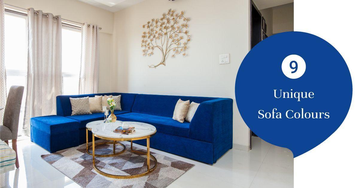 Trend Alert: Fun & Fresh Sofa Colours