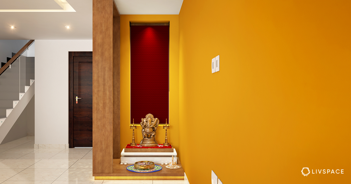 Top 5 Colors That Will Bring Good Vastu Vibes to Your Pooja Rooms in 2021