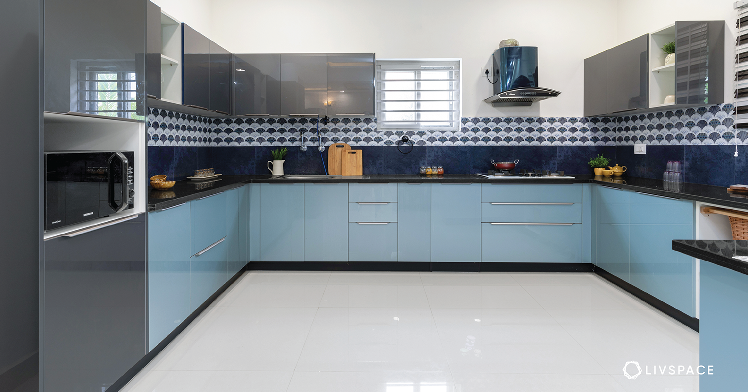 20 Color Schemes for Indian Kitchens