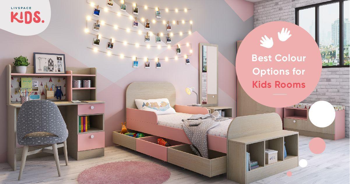 A Handbook On Kids Room Colours, Children's Bedroom Furniture