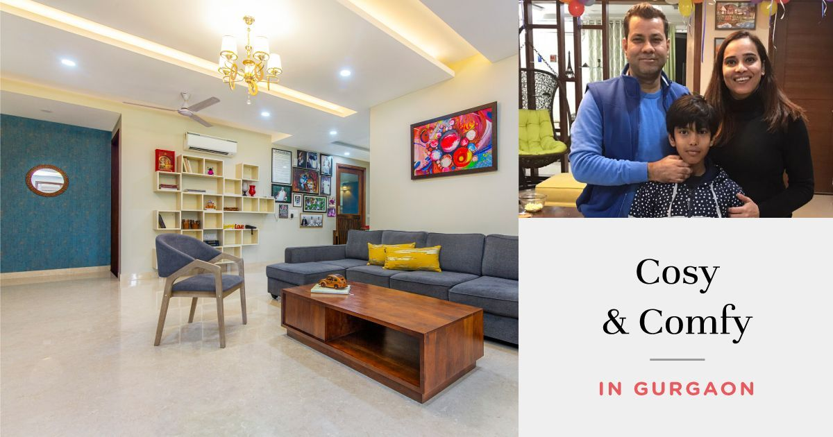 3BHK Goes Modern on a Budget