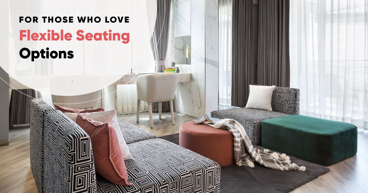 9 Ways To Add Seating To Small Spaces