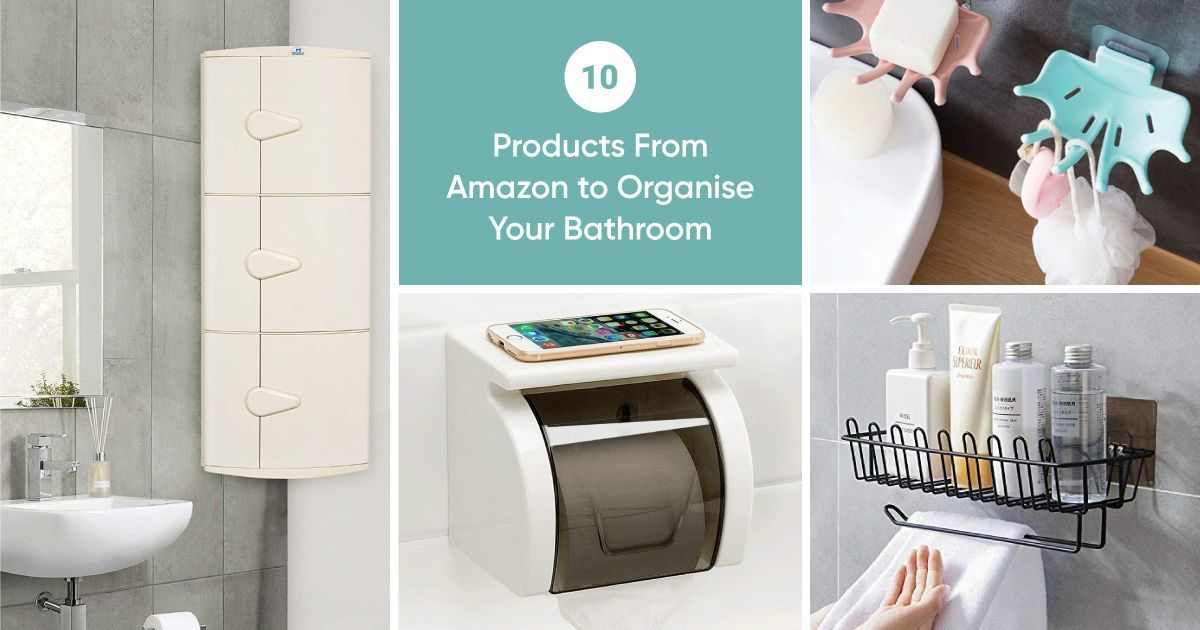 10 Amazon Products for an Organised Bathroom