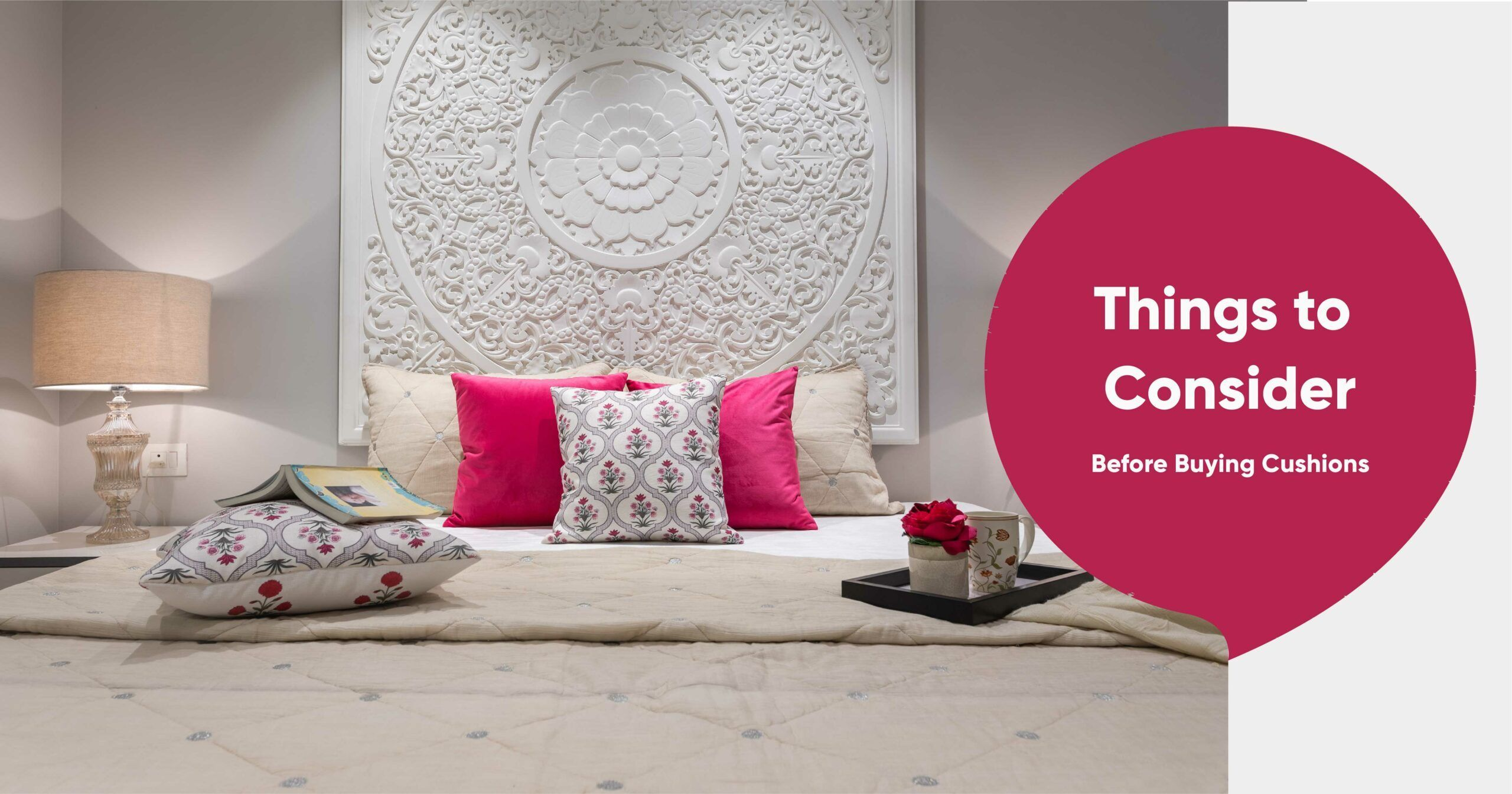 A Comprehensive Cushions Buying Guide That Works for Every Home