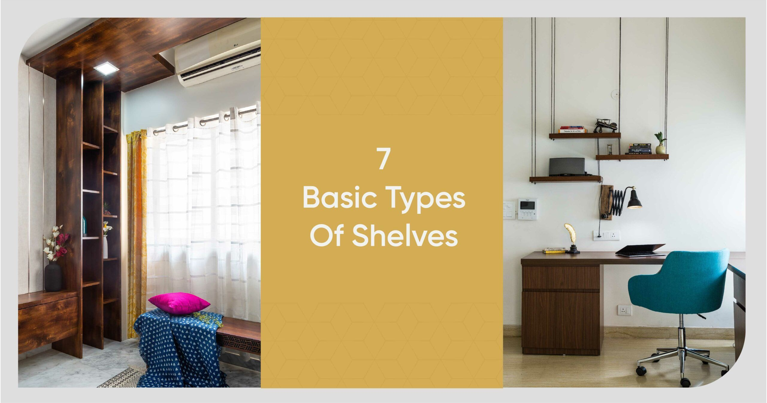 How Many Types of Shelves Can You Name?