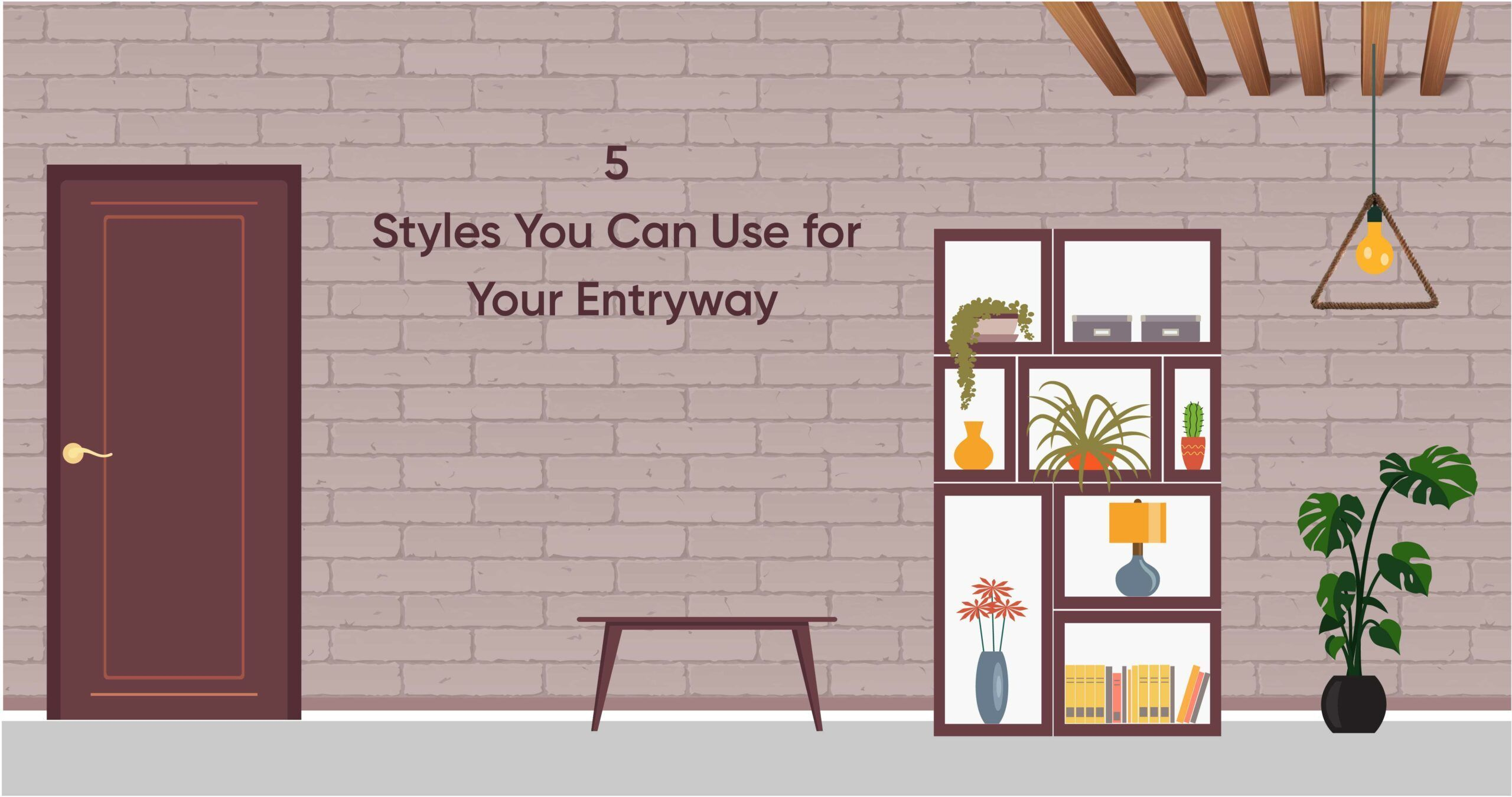 1 Entryway, 5 Iconic Styles; And Your Pick Is?