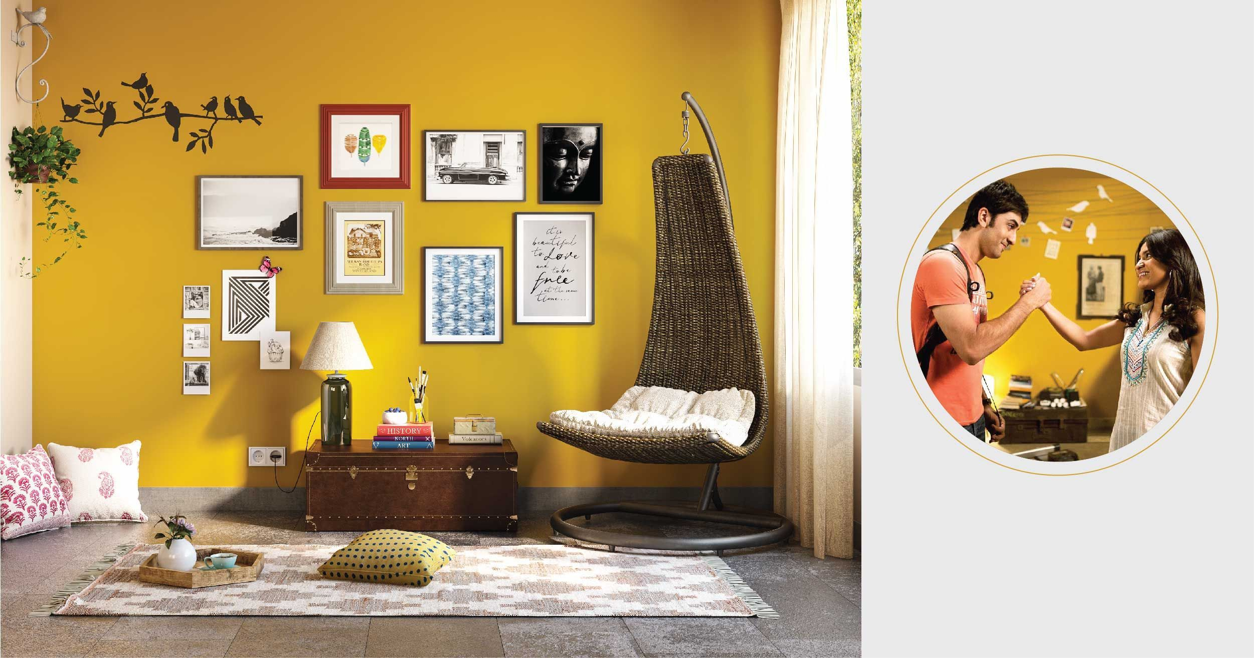 Wake Up Sid-inspired Interiors to Make the Most of a Compact Home