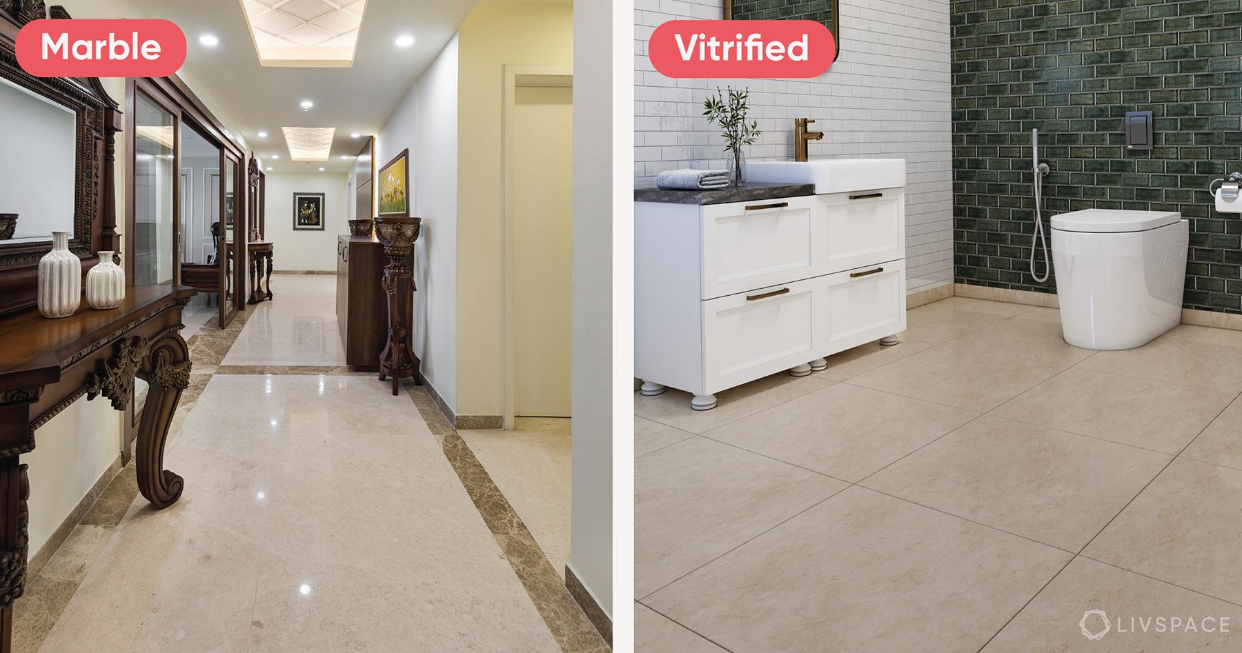 vitrified tiles vs marble-cover