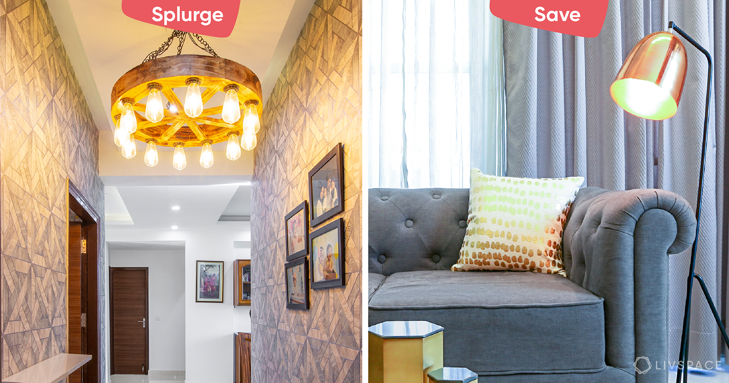 6 Things You Should Splurge and Save on When Redecorating