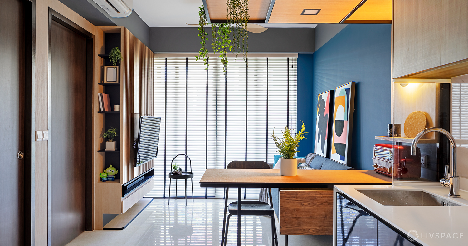 Space-savvy, Stylish Condo Design With Cafe Vibe