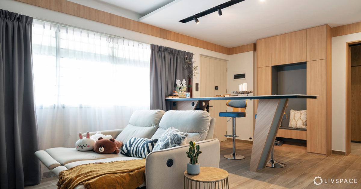 What is the Best Way to Design a 4-room HDB for a Young Couple