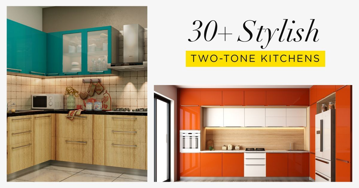 Get In On the Two-Tone Kitchen Cabinet Trend