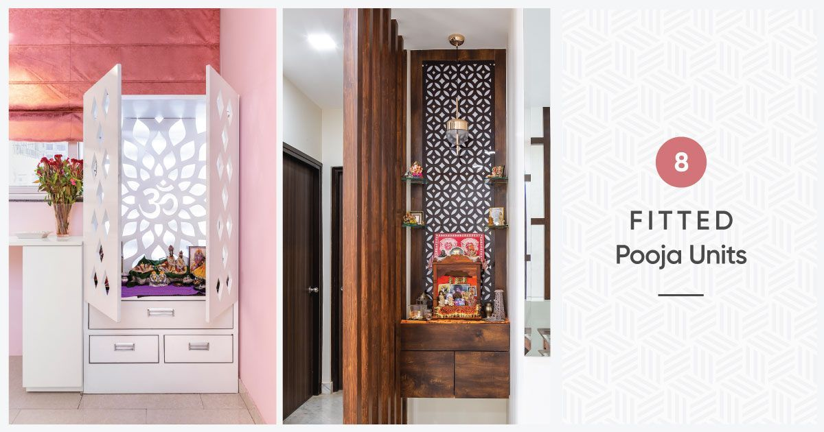 Pooja Units That Can Fit Into Any Nook & Corner