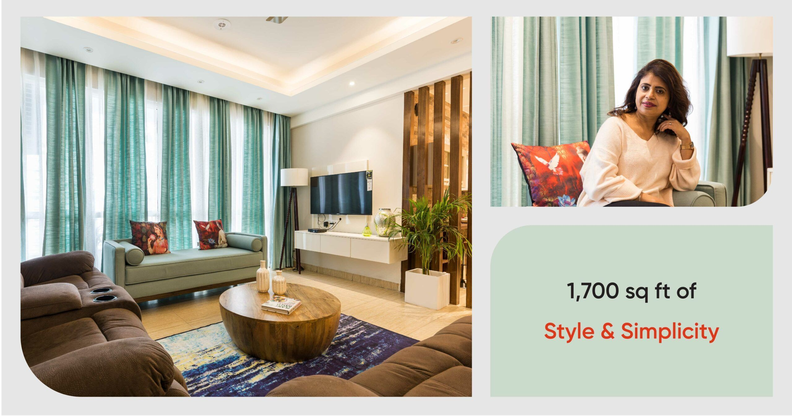 Design Lesson On Style Without Splurging A Noida 3bhk