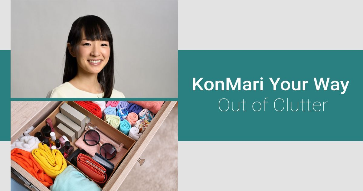 5 Rules to Organising Like Marie Kondo