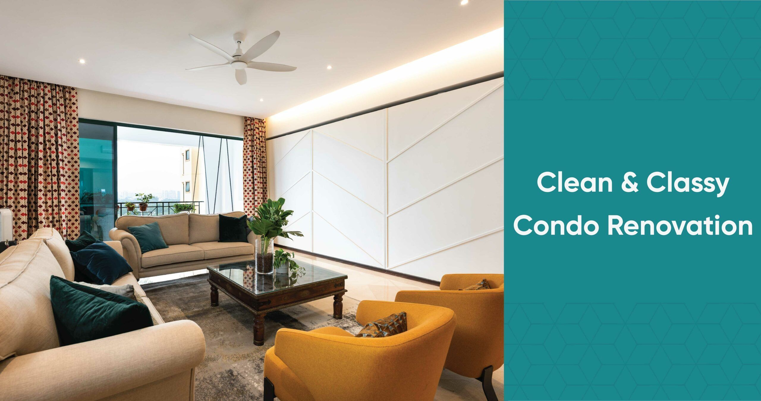 Muted Colours & Elegant Detailing for this 4-room Condo