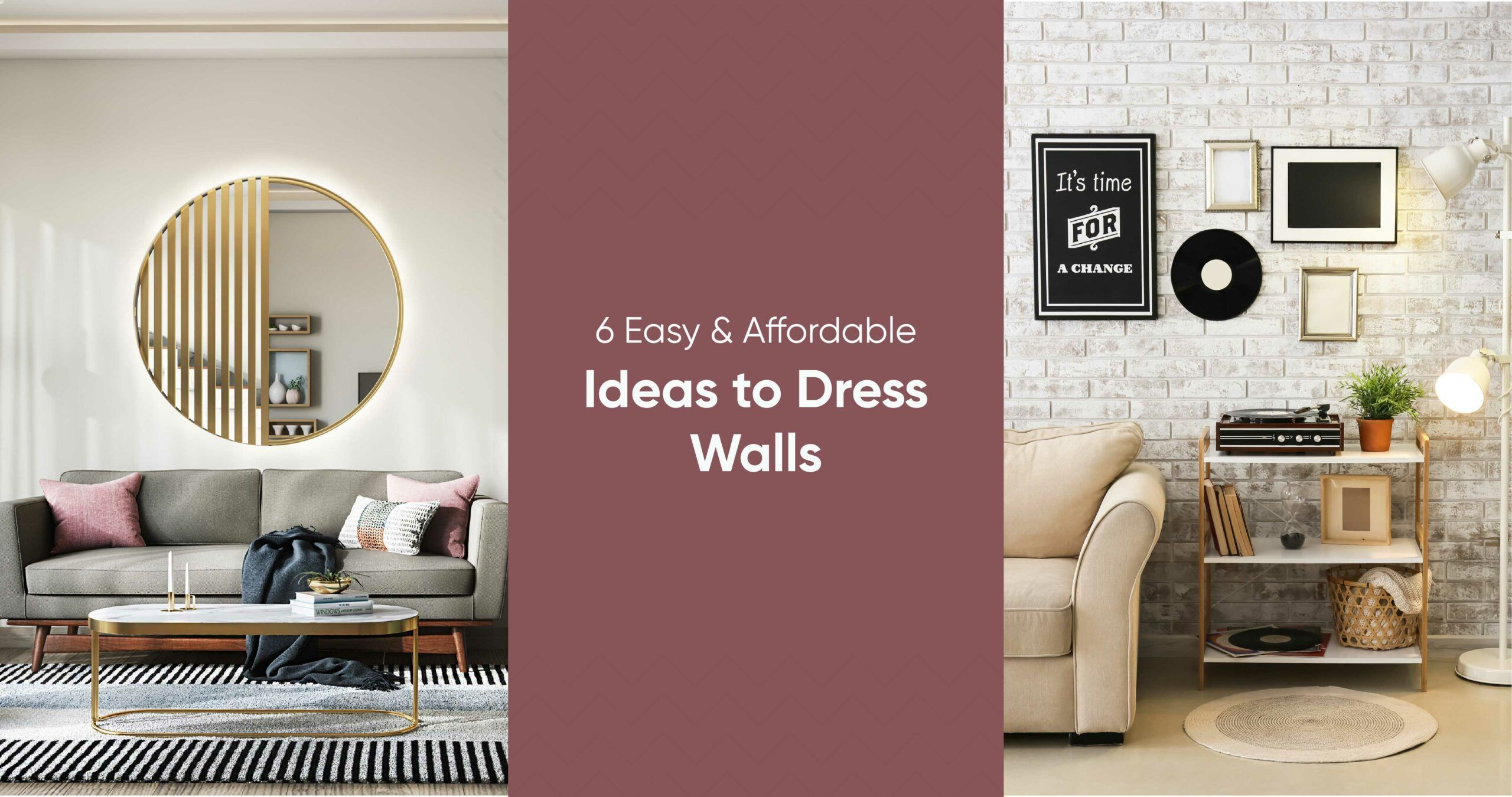 How to Get Insta-worthy Walls Without Going Broke