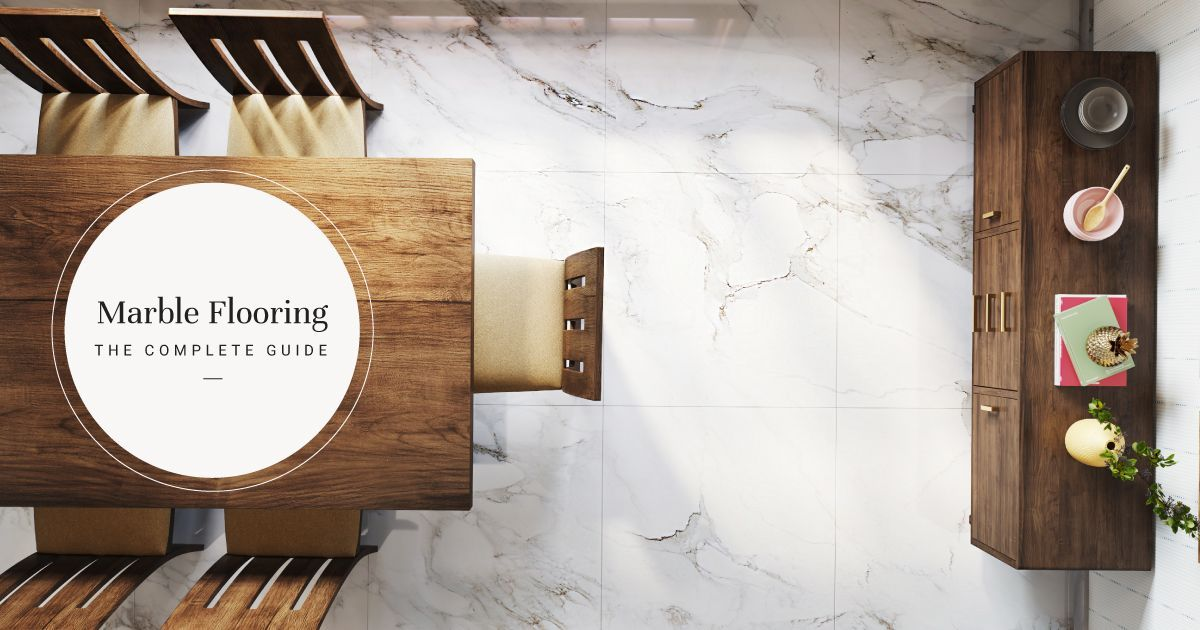 All You Need to Know About Marble Flooring & How to Maintain It