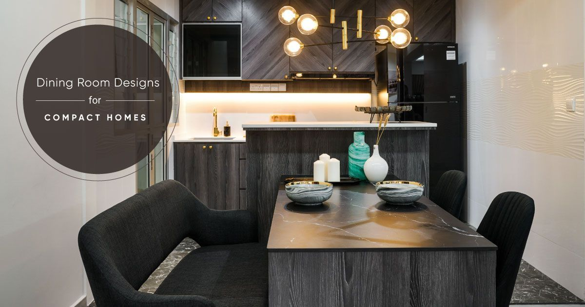How to Make Your Dining Table Work in a Small Home