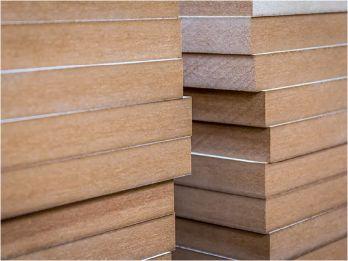 Engineered wood - MDF, HDF-HMR, PB