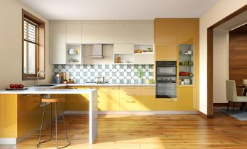 Storage Max Peninsula Kitchen
