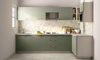 Convenience Max L-shaped Modular Kitchen