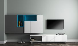 Design Ideas | 6 stylish TV-cum-storage modular units