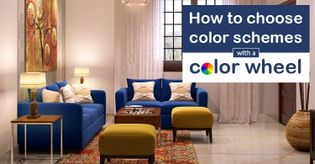 How To Create Color Schemes Using The Color Wheel