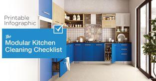 Modular Kitchen Cleaning Checklist