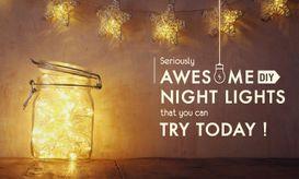 DIY Night Lights