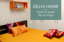 A Delhi Home Makeover, Small On Space But Big On Magic