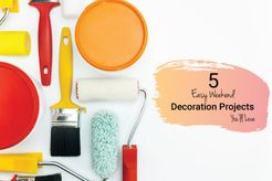 weekend decoration project
