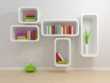 bookshelf decor