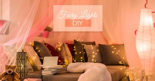 Fairy light decoration ideas
