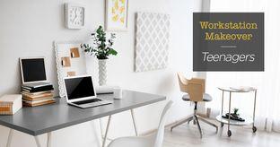 teen workstation ideas