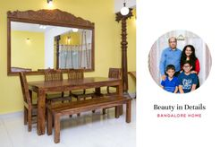 Ethnic Detailing at a Warm and Inviting Home in Bangalore