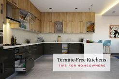 termite-free kitchen