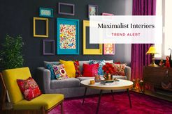 Maximalist interior design